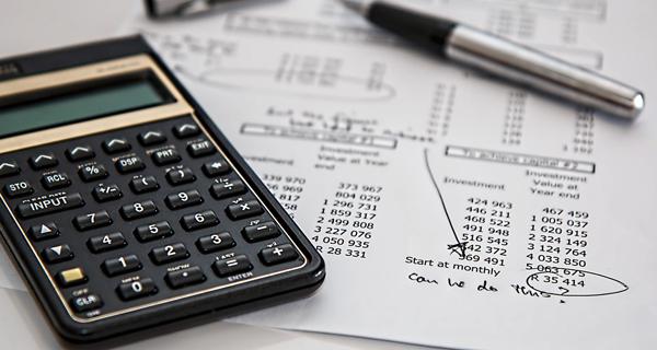 Taschenrechner, Kalkulation, Ausgaben, Rechnungen